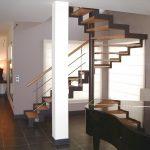 Escalier tournant à limons latéraux en crémaillère - Seignosse - Landes
