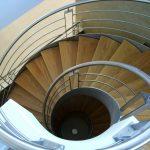 Escalier à 2 limons débillardé de 2 étages - Hossegor - Landes