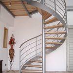 Escalier hélicoïdal avec limon extérieur débillardé - Soustons - Landes